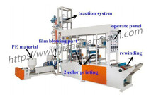Extrusion Blow Moulding Type and PE Plastic Processed Film Blowing Machine Set