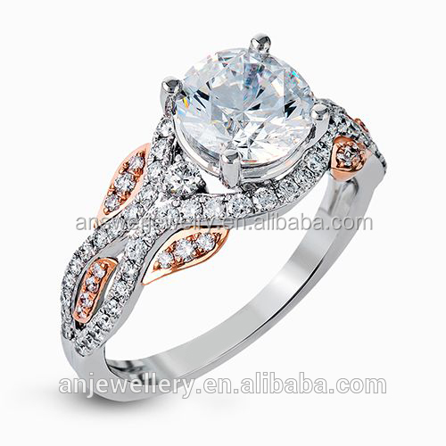 Wholesale real diamond engagement rings
