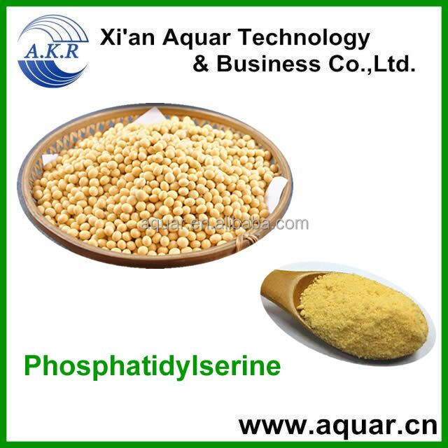 Natural Healthcare Products Soybean Extract /Phosphatidyl Serine Powder/PS improve nerve cell function