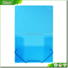 OEM polypropylene products factory file folder with Elastic Strap
