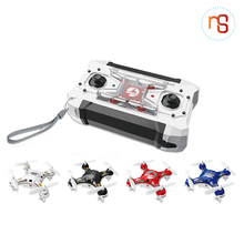 Trend portable pocket 4-axis aircraft rc mini selfie drone with USB line