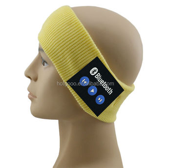 advanced technology good quality sport band,sweatband with headset