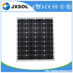 CE/TUV certificates cheap price good quality 75w mono solar panel high efficiency solar module