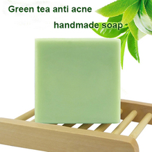 Acne Repairing Green Tea Handmade Soap for Acne pimples