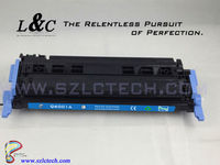 Emballage Cartucho De Toner Q6000A, Use for HP color laserjet 1600/2600n/2605