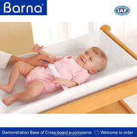 ergonomic curved baby changing mat/cushion/pillow,colorful baby urine changing mat/pad,anti-bacterial infant changing mat