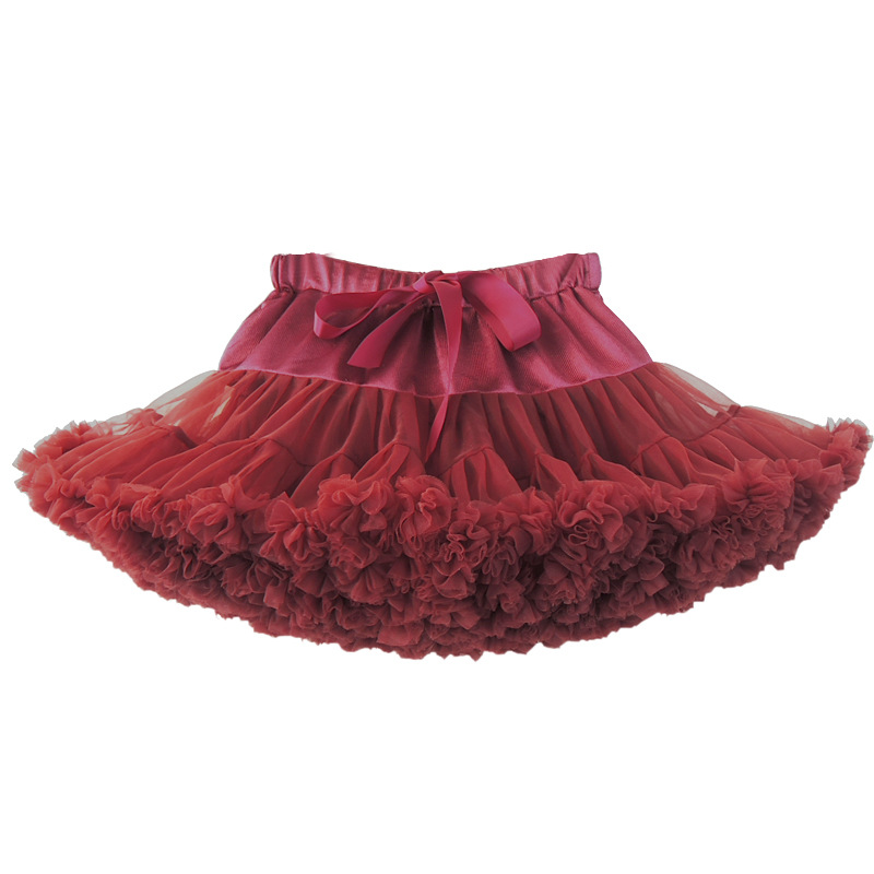red princess tutu pettiskirt/blue shell 30 color women girl mesh princess dress/ dancing pettiskirt