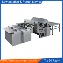 SM-1020C Semi-automatic book three side cutting Machine for Book sewing and soft cover hardcover book making