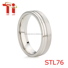 Silver Wedding Ring for Womens, 925 Sterling Silver Ring, Silver Stainless Steel Wedding Bands Womens Wedding Rings