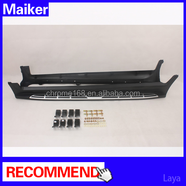 Aluminium alloy Running boards for Chery Tiggo 5 car Side step bar auto running board 4x4 accessories from Maike