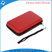 for 3DS XL EVA material hard protective drive storage case