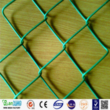 galvanized chain link fence for animals cage with high quality and low price