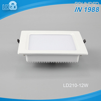 New design hot sale green life 12w Zhongshan aluminum led square panel light with China factory lowest price