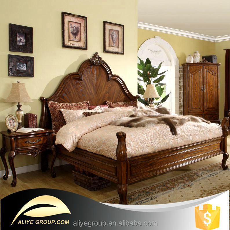 8019A-58K-luxury matching furniture solid wood bedroom furniture from Foshan furniture manufacturers