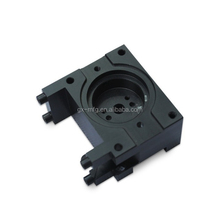Non-stardard 4 Axis CNC Milling machined Parts with black POM , UPE , Nylon material