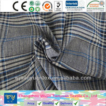 fashion shirt garment yarn dyed cotton fil a fil old fashion fabric