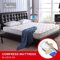 "Compressed designs bonnell/spring mattress with 8"" height"