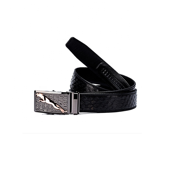 Authentic Python Leather Men <strong>Belt</strong> 3.8cm