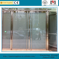 Gao Ming switch transparent glass for doors, glass partition, shower enclosure or divider, skylight, roof