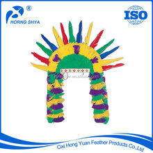 Trading Wholesale ISO Certification Environmentlly Carnival Party America Design Wholesale Feather Wigs