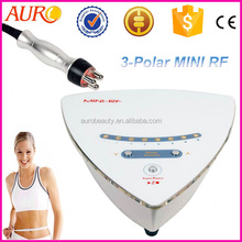 2014 new mini rf machine skin rejuvenation for facial and body contouring home use AU-38