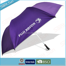 Hot selling auto open promotion folding golf umbrella,Cheap automatic folding golf umbrella