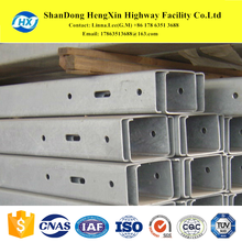 C U T H T O Z Type steel channel guardrail post for traffic safety fence