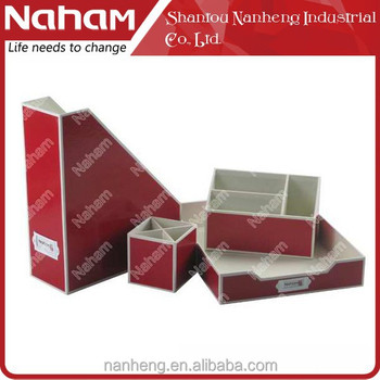 NAHAM Creative Office 4 pcs Stationery Storage Set