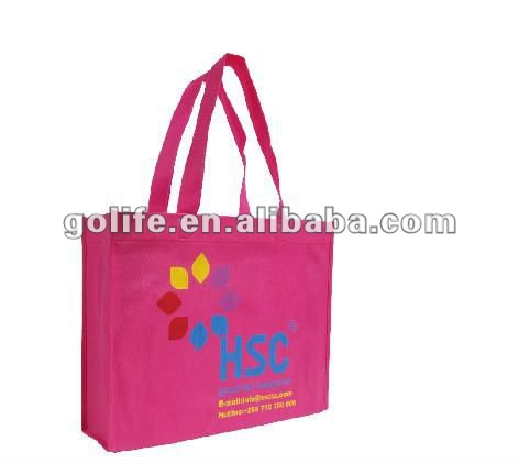2012 new design 100% recycle non woven shopping bags,custom print lovely small shopping bags,custom print non woven promotional