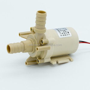 12V DC brushless centrifugal 12 volt hot water recirculating pump