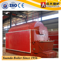 industrial coal /charcoal/ coke fuel fired 8t, 8 ton steam generators price for distributors
