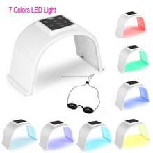 7 color pdt led infrared blue bio photon machine omega red led light therapy for skin professional