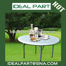 4 FT FOLDING ROUND TABLE(HDPE,plastic table IDEALY110)