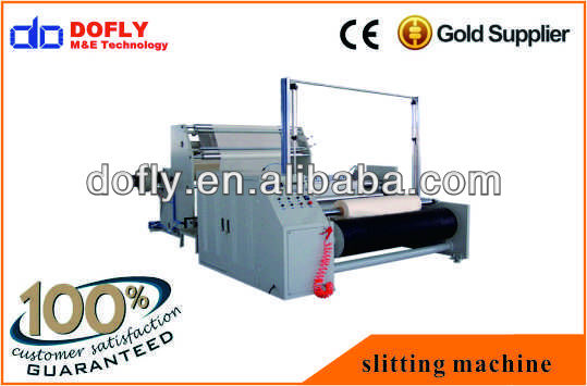 high speed and hot sale stretch film slitting machine