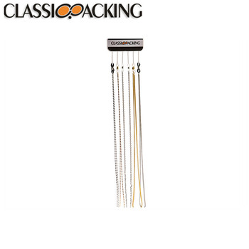 Hot selling 25.20''cm reading metallic glasses cord