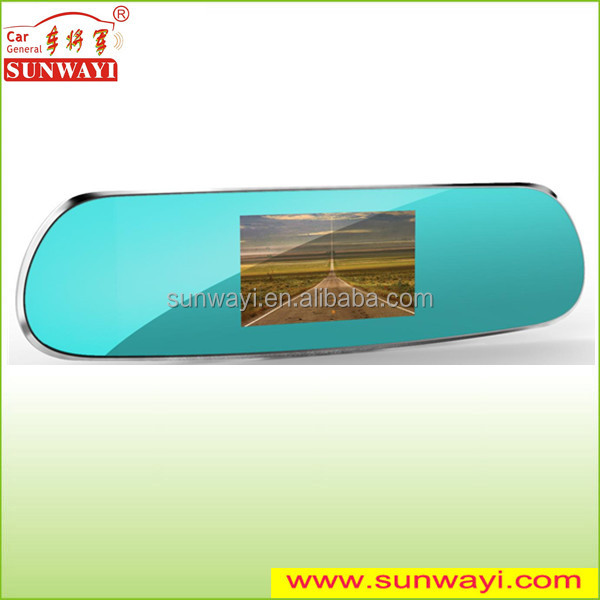 High quality rearview mirror Gps Navigator car dvr camera (6-IN-1)