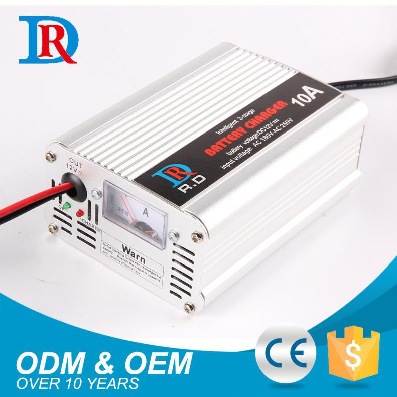Order From China Direct 10 Amp 12V Deep Cycle Battery Charger