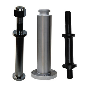 China made mud pump parts piston rod for oil field drilling rig hydraulic cylinder