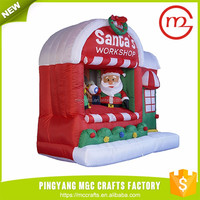 5 foot inflatable santa claus usa christmas decorations