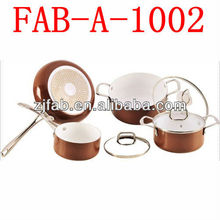 Induction Base Aluminum Ceramic Cookware Sets Italy