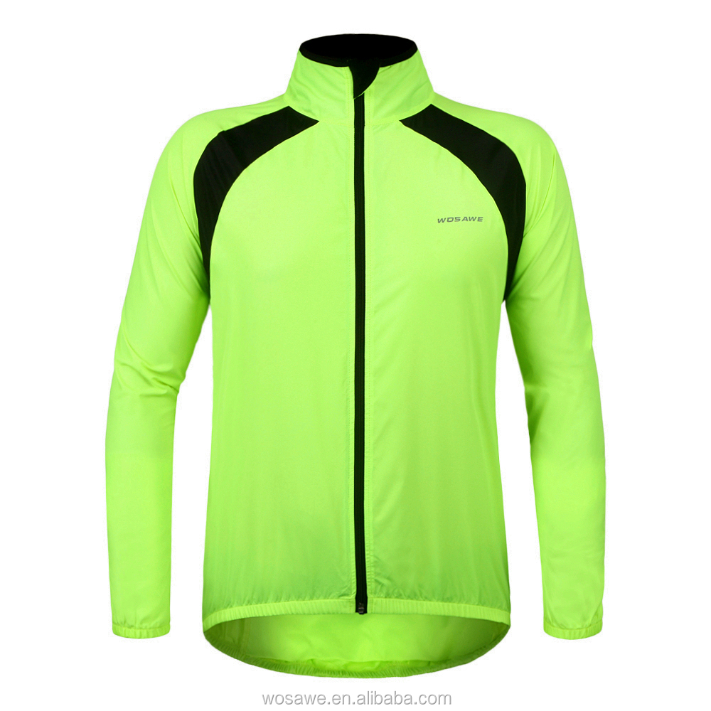 New Arrival Windbreaker Riding Soft Waterproof Windproof Men Cycling European Style Jackets for Man and Women
