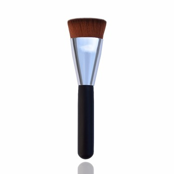 Hot selling refillable body kiss beauty powder blusher loose concealer container brush with soft hair