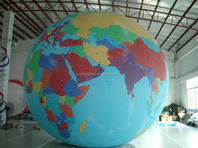 Good Quality Inflatable Globe World Balloon on Sale/ Inflatable Globe Sphere