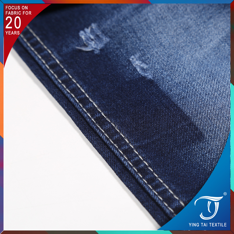 TR colored denim fabric Twill jean fabric for pants/ shirt denim fabric