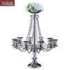 Wedding candleholder big candlestick flower candelabrm 10 arm pillar candle for home and wedding decoration