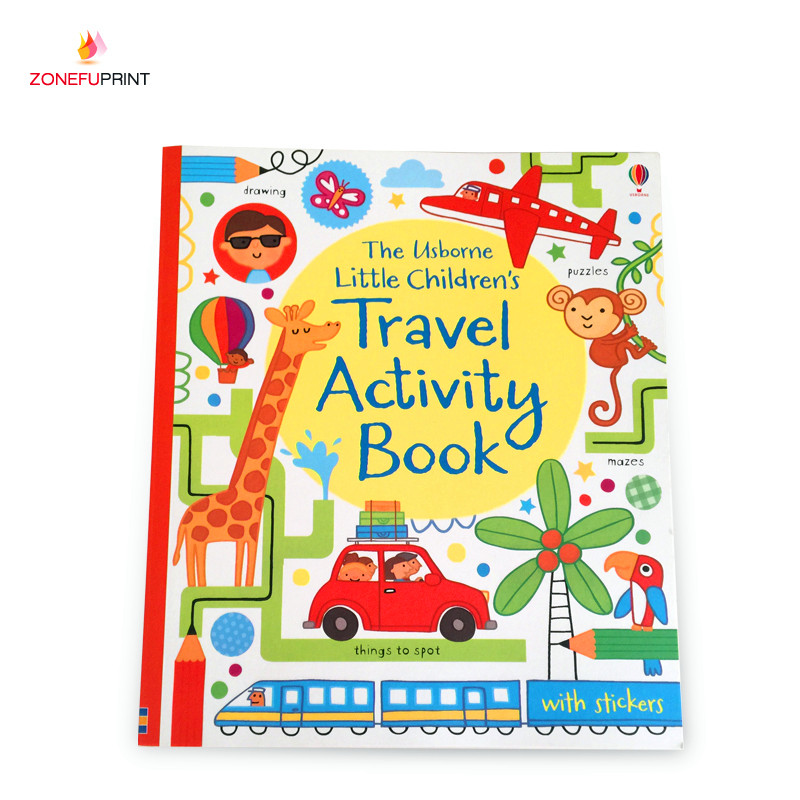 Custom Digital PrintChildren Color Cartoon Book For Kids Paperback Books With Book <strong>Printing</strong> Service