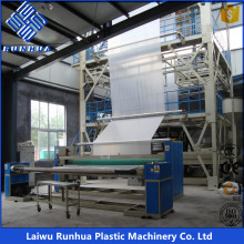 3 layers LDPE LLDPE greenhouse coextrusion film blowing machine