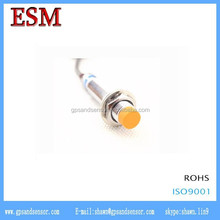 For motor rotation status detection 12v dc proximity sensor Unshielded Inductive proximity switch