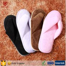 2017 Latest High Quality Non-disposable Hotel slippers accept OEM With factory Price