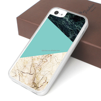 transparent case for iphone 5c accept geometric design